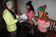 Community Members, Volunteers with Tamaqua Community Arts Center Sing Carols, Tamaqua (7)