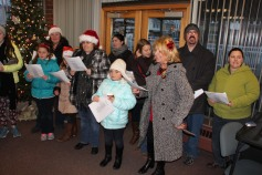 Community Members, Volunteers with Tamaqua Community Arts Center Sing Carols, Tamaqua (8)