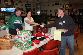 East End Fire Company Helps 27 Families for the Holidays, EE Fire Company, Tamaqua, 12-20-2015 (1)