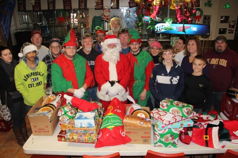 East End Fire Company Helps 27 Families for the Holidays, EE Fire Company, Tamaqua, 12-20-2015 (14)