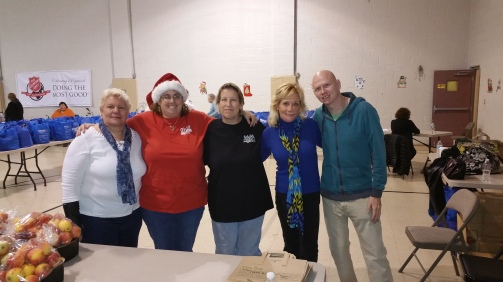 Food Basket, Angel Tree, Toys For Tots Distribution, Salvation Army, Tamaqua, 12-17-2015 (13)