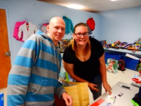 Food Basket, Angel Tree, Toys For Tots Distribution, Salvation Army, Tamaqua, 12-17-2015 (21)