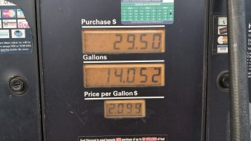 Gas Prices, Turkey Hill, Tamaqua, 12-8-2015 (3)