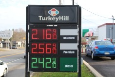 Highs and Lows, Temperature, Gas Prices, Tamaqua, Turkey Hill, Hometown, 12-25-2015 (12)