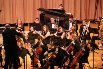 Holiday Concert via Gabriel Youth Orchestra, Lengel Auditorium, Pottsville MS (11)