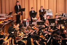 Holiday Concert via Gabriel Youth Orchestra, Lengel Auditorium, Pottsville MS (15)