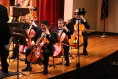 Holiday Concert via Gabriel Youth Orchestra, Lengel Auditorium, Pottsville MS (19)
