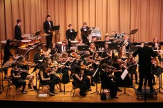 Holiday Concert via Gabriel Youth Orchestra, Lengel Auditorium, Pottsville MS (2)