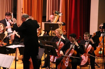 Holiday Concert via Gabriel Youth Orchestra, Lengel Auditorium, Pottsville MS (21)