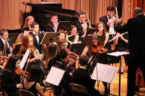 Holiday Concert via Gabriel Youth Orchestra, Lengel Auditorium, Pottsville MS (23)