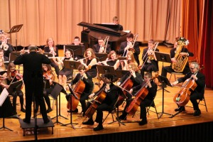 Holiday Concert via Gabriel Youth Orchestra, Lengel Auditorium, Pottsville MS (3)