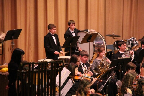 Holiday Concert via Gabriel Youth Orchestra, Lengel Auditorium, Pottsville MS (31)