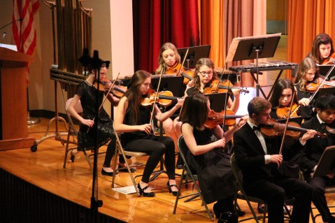 Holiday Concert via Gabriel Youth Orchestra, Lengel Auditorium, Pottsville MS (42)