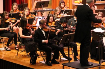 Holiday Concert via Gabriel Youth Orchestra, Lengel Auditorium, Pottsville MS (43)