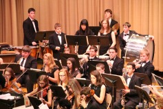 Holiday Concert via Gabriel Youth Orchestra, Lengel Auditorium, Pottsville MS (48)