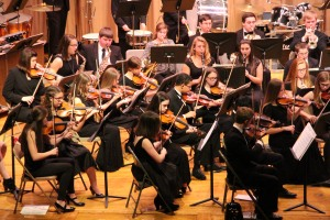 Holiday Concert via Gabriel Youth Orchestra, Lengel Auditorium, Pottsville MS (5)