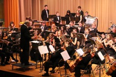 Holiday Concert via Gabriel Youth Orchestra, Lengel Auditorium, Pottsville MS (58)