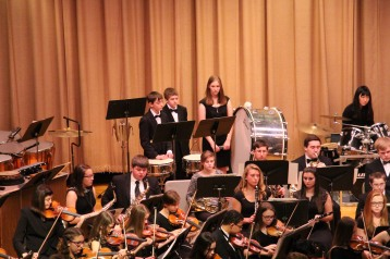 Holiday Concert via Gabriel Youth Orchestra, Lengel Auditorium, Pottsville MS (77)