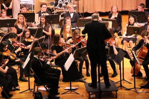 Holiday Concert via Gabriel Youth Orchestra, Lengel Auditorium, Pottsville MS (79)
