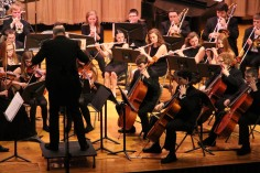 Holiday Concert via Gabriel Youth Orchestra, Lengel Auditorium, Pottsville MS (8)