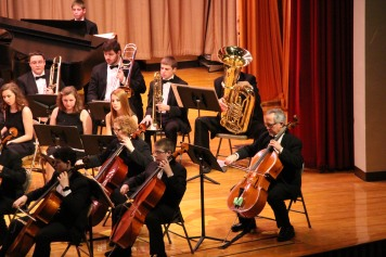 Holiday Concert via Gabriel Youth Orchestra, Lengel Auditorium, Pottsville MS (82)