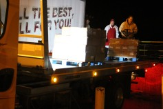 Hope's Towing and Collision Helps Deliver Holiday Hams for Salvation Army, Lehighton (14)