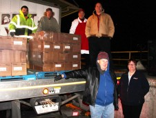 Hope's Towing and Collision Helps Deliver Holiday Hams for Salvation Army, Lehighton (18)