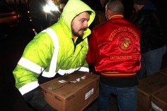 Hope's Towing and Collision Helps Deliver Holiday Hams for Salvation Army, Lehighton (36)