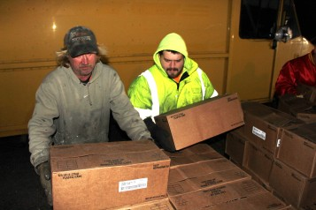 Hope's Towing and Collision Helps Deliver Holiday Hams for Salvation Army, Lehighton (40)