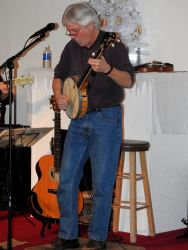 Jay Smar performs, Summit Hill Heritage Center, Summit Hill, 12-11-2015 (1)
