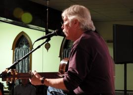 Jay Smar performs, Summit Hill Heritage Center, Summit Hill, 12-11-2015 (14)