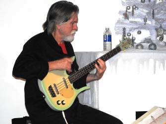 Jay Smar performs, Summit Hill Heritage Center, Summit Hill, 12-11-2015 (2)