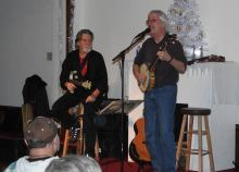 Jay Smar performs, Summit Hill Heritage Center, Summit Hill, 12-11-2015 (27)