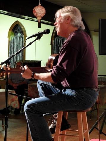 Jay Smar performs, Summit Hill Heritage Center, Summit Hill, 12-11-2015 (5)