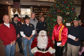 Lansford American Legion Donates to Muliple Organizations, American Legion, Lansford, 12-19-2015 (2)