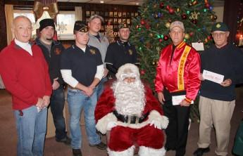 Lansford American Legion Donates to Muliple Organizations, American Legion, Lansford, 12-19-2015 (4)