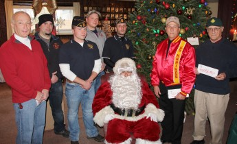 Lansford American Legion Donates to Muliple Organizations, American Legion, Lansford, 12-19-2015 (4)
