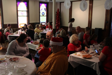 Lunch With Santa and Holiday Show, Tamaqua Community Arts Center, Tamaqua, 11-29-2015 (1)