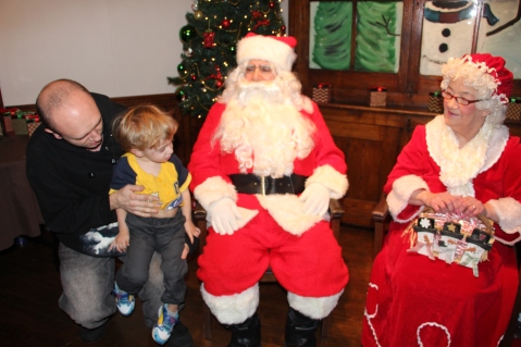 Meet and Greet with Santa, Mrs. Claus, Tamaqua Community Arts Center, Tamaqua, 12-4-2015 (1)