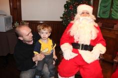 Meet and Greet with Santa, Mrs. Claus, Tamaqua Community Arts Center, Tamaqua, 12-4-2015 (2)