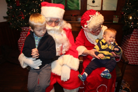 Meet and Greet with Santa, Mrs. Claus, Tamaqua Community Arts Center, Tamaqua, 12-4-2015 (201)
