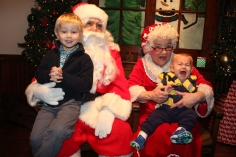 Meet and Greet with Santa, Mrs. Claus, Tamaqua Community Arts Center, Tamaqua, 12-4-2015 (202)