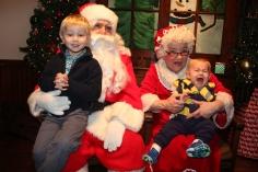 Meet and Greet with Santa, Mrs. Claus, Tamaqua Community Arts Center, Tamaqua, 12-4-2015 (202)