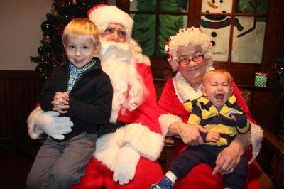 Meet and Greet with Santa, Mrs. Claus, Tamaqua Community Arts Center, Tamaqua, 12-4-2015 (205)
