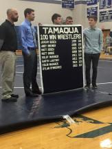 New Tamaqua Wrestling Banner, 11 Wins, TASD Auditorium, Tamaqua (1)