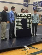 New Tamaqua Wrestling Banner, 11 Wins, TASD Auditorium, Tamaqua (2)