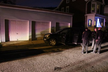 Police Chase, Stolen Vehicle, Rolling Mill Avenue, Tamaqua, 12-24-2015 (36)