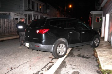 Police Chase, Stolen Vehicle, Rolling Mill Avenue, Tamaqua, 12-24-2015 (42)