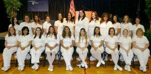 Practical Nurse Graduation, Penn State, Hazleton, 12-16-2015