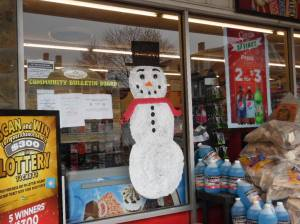 PV Students Paint Store Fronts, submitted, via Lansford Alive, Lansford, 12-11-2015 (1)